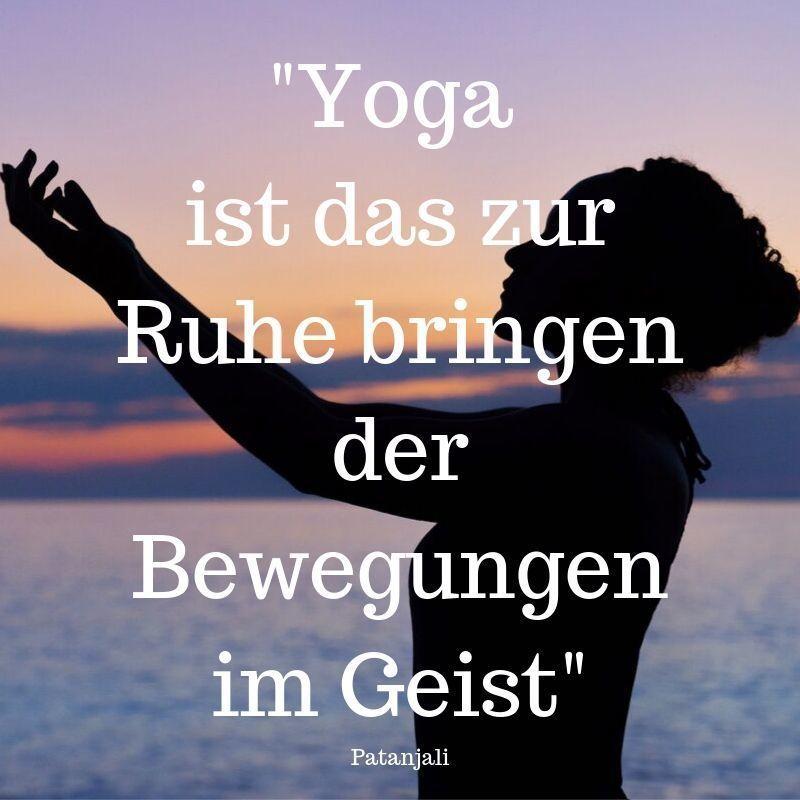 Yoga Zitat Patanjali