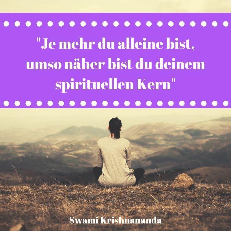 Yoga Zitat Spiritualität