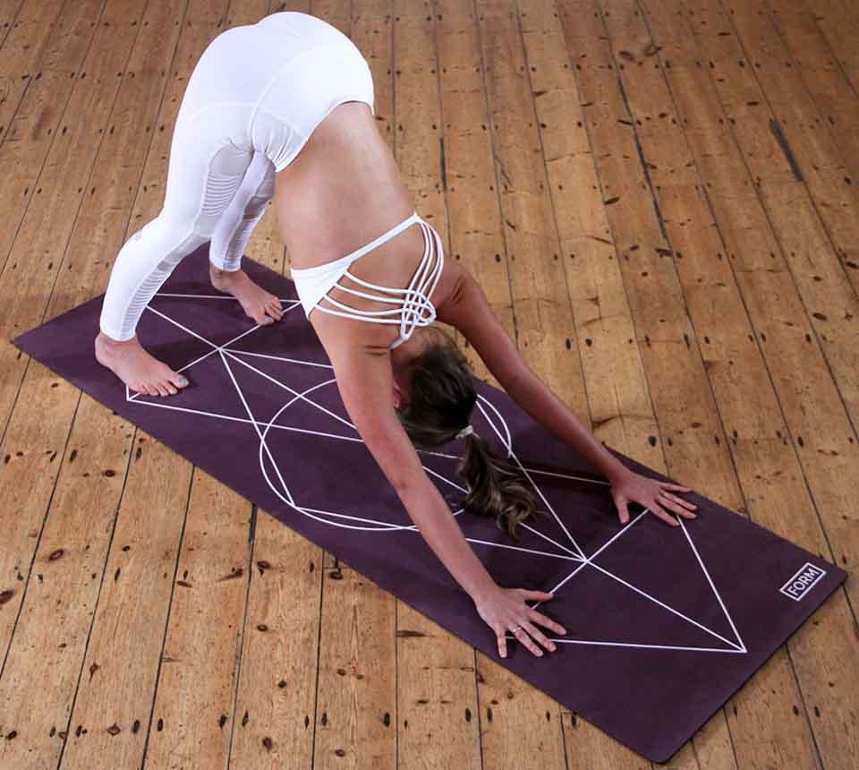 Yoga Übung: herabschauender Hund