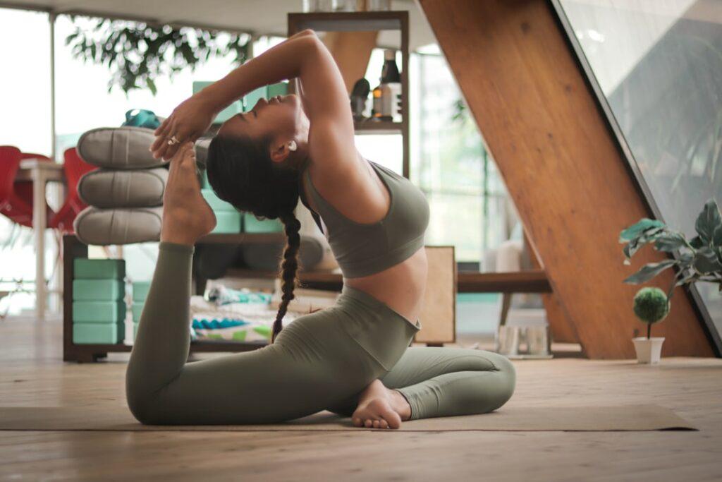 Yoga der puren Entspannung