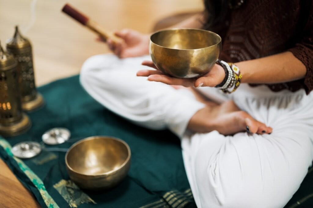 klang meditation padma