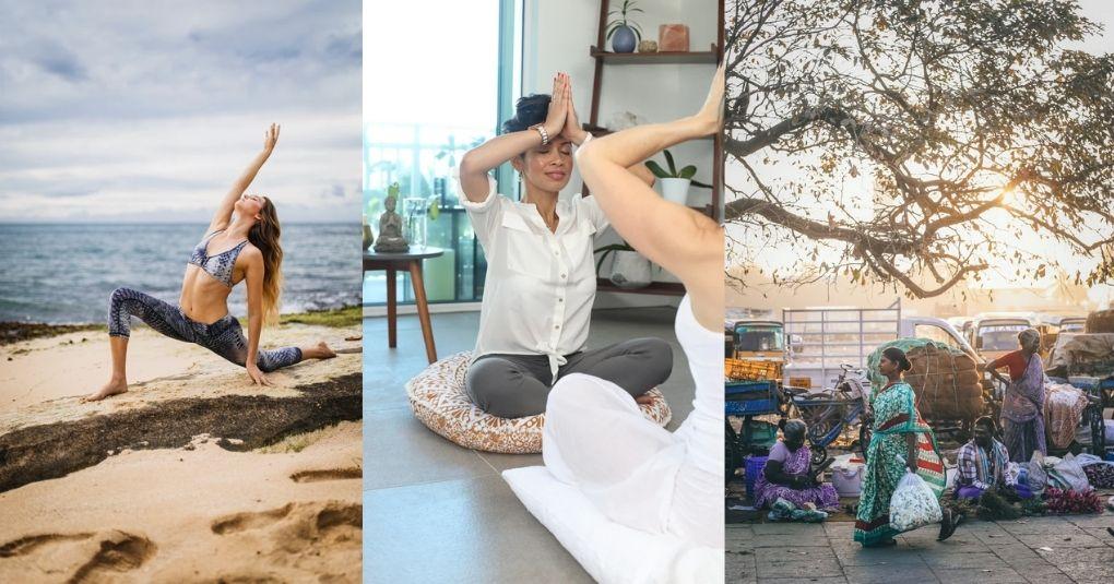Yoga Gruppe: Ein Ort zum Entspannen und um neue Freunde zu treffen